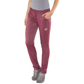 Mammut Massone - Pantalon long Femme - rouge